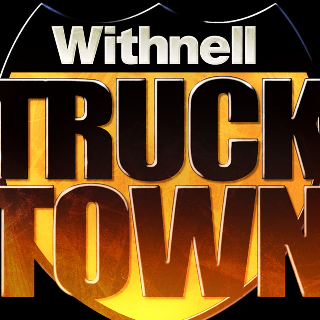 Branding and logo design for Withnell Truck Town, Oregon. Cuffe Sohn Design, OR