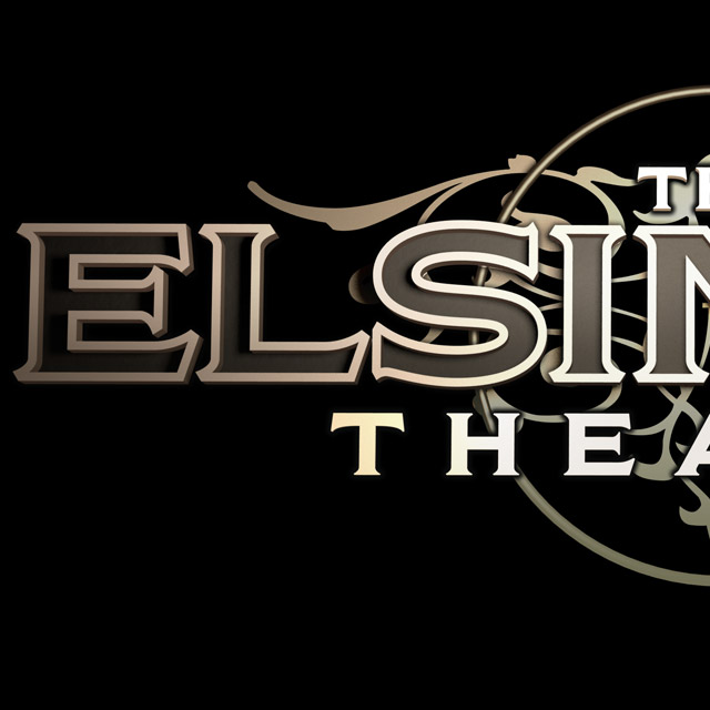 Logo and folio print project for Elsinore Theater, Cuffe Sohn Design, Salem, OR
