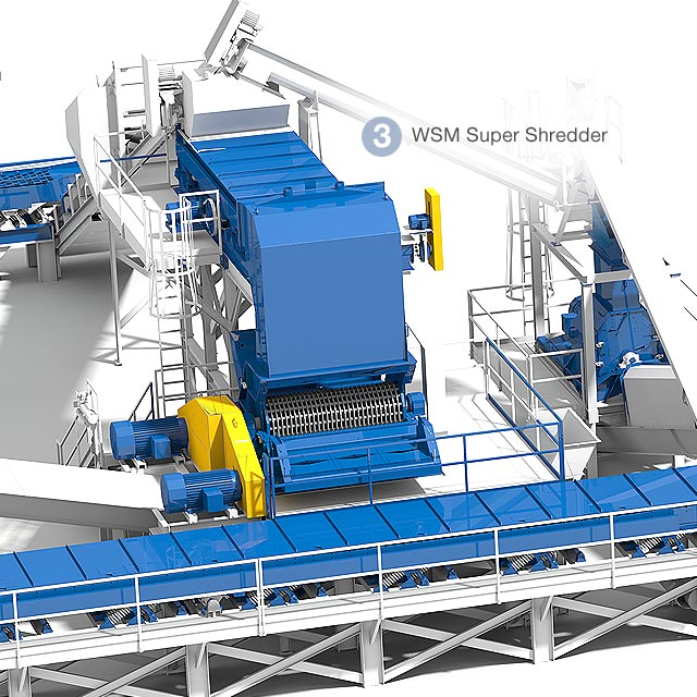 photorealistic illustrations made visualizing these complex systems possible. Client, West Salem Machinery. Cuffe Sohn Design Salem, Oregon